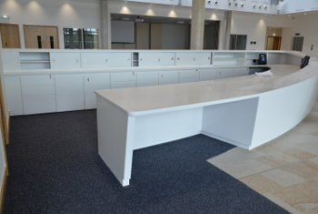 Bespoke Counters Reception Desks Cabinetry
