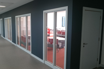 Bespoke Screens Glass Provided