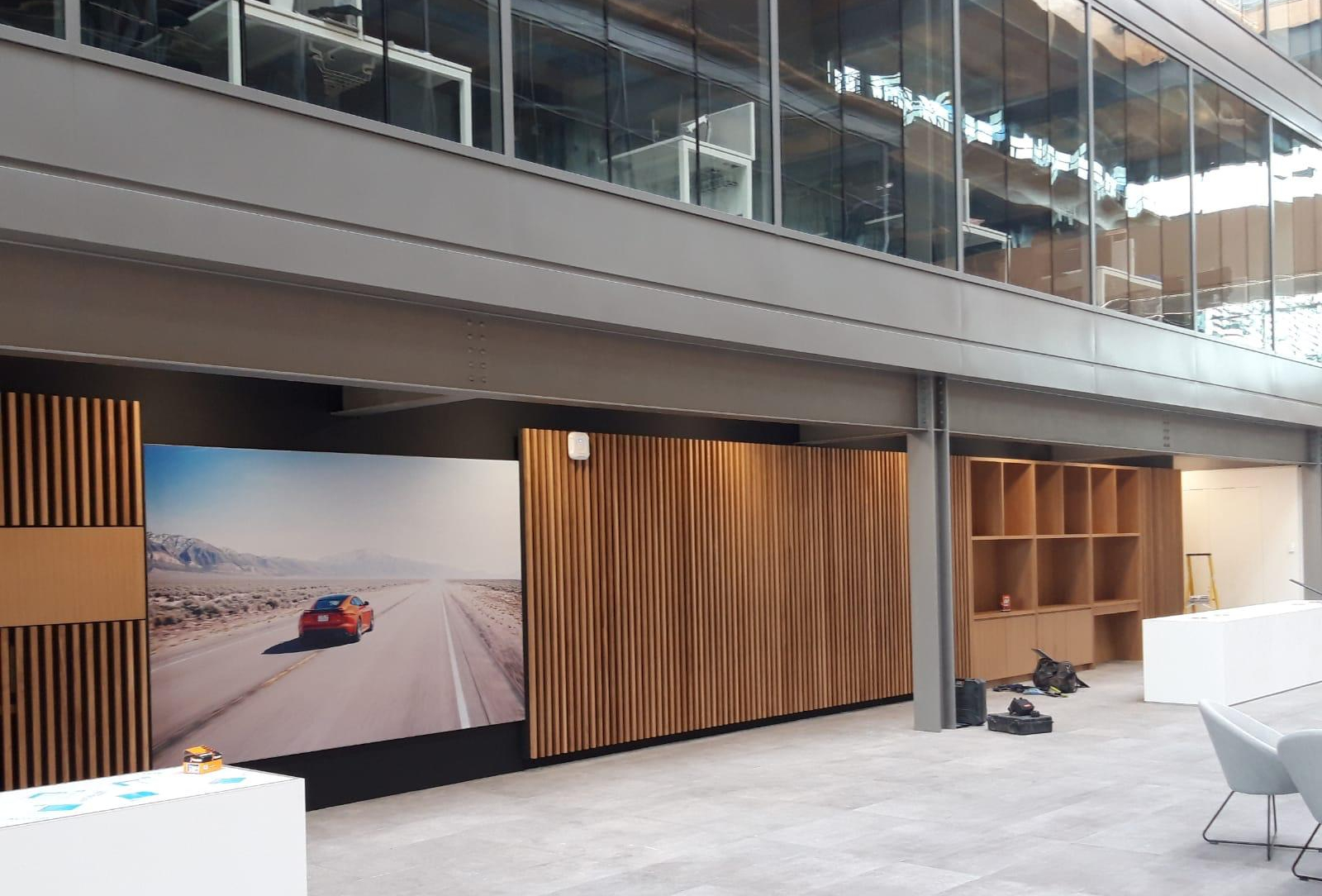Acoustic Joinery at Jaguar Landrover