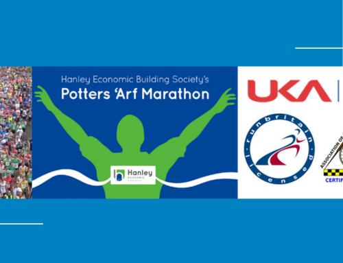 WJL Sign Up for Potters 'Arf Marathon