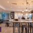 Commercial joinery at Premier Inn bar