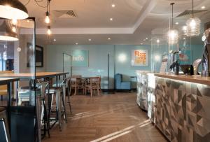 Commercial joinery at Premier Inn restaurant